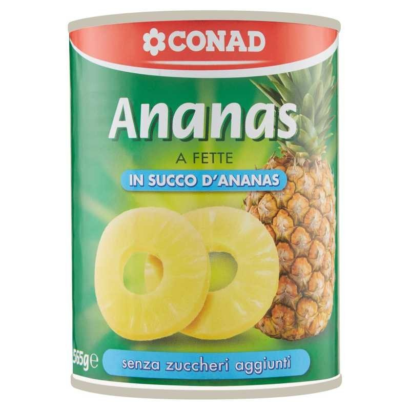 Conad Ananas a Fette in...