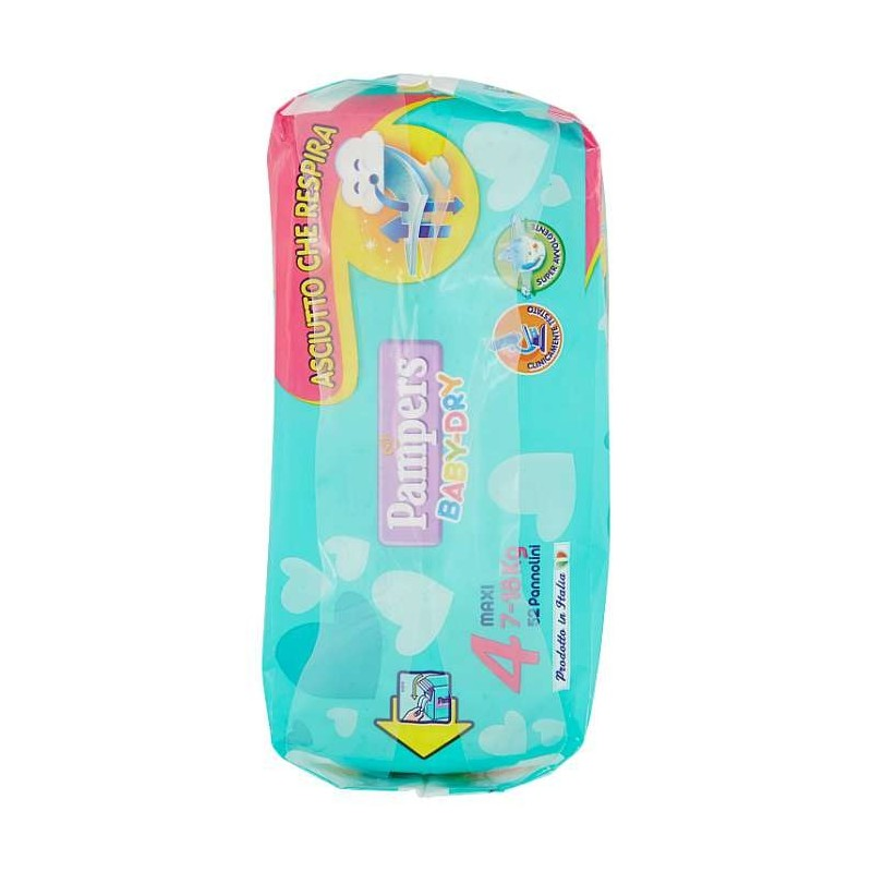 Pampers BABY DRY Maxi x52