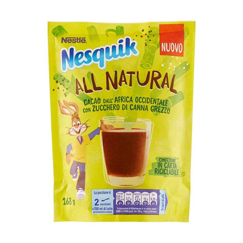NESQUIK ALL NATURAL Cacao...