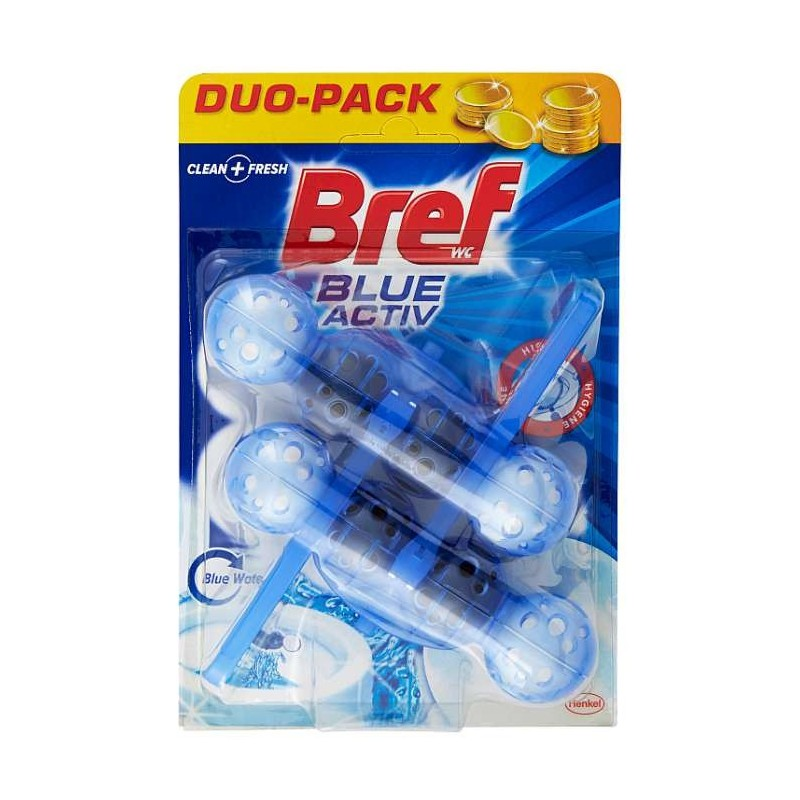 BREF Wc Blue Activ Duo Pack...