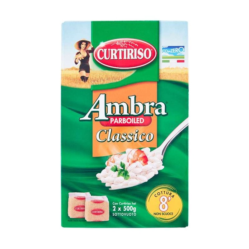 Curtiriso Ambra parboiled...