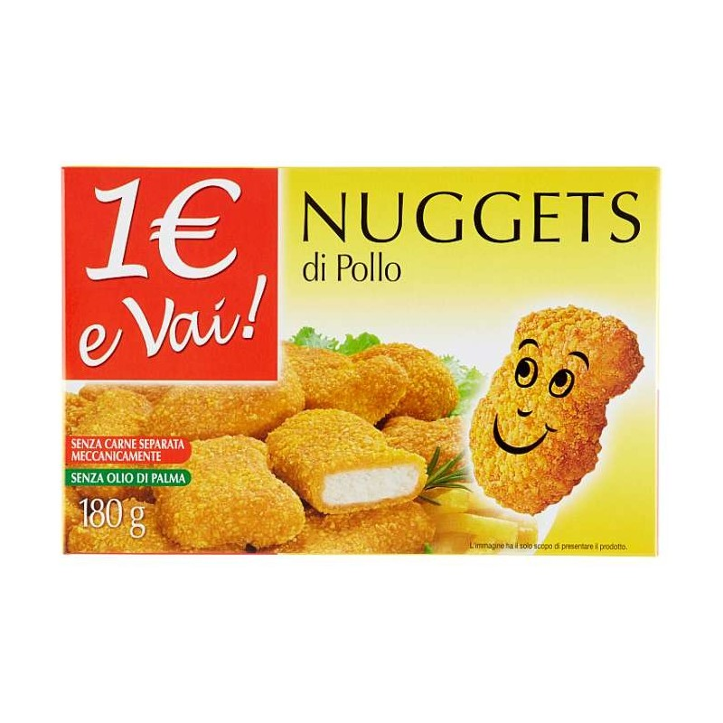 1€ e Vai! Nuggets di Pollo...