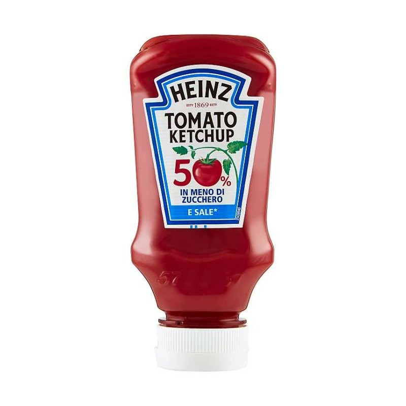 Heinz Tomato Ketchup 50% in...