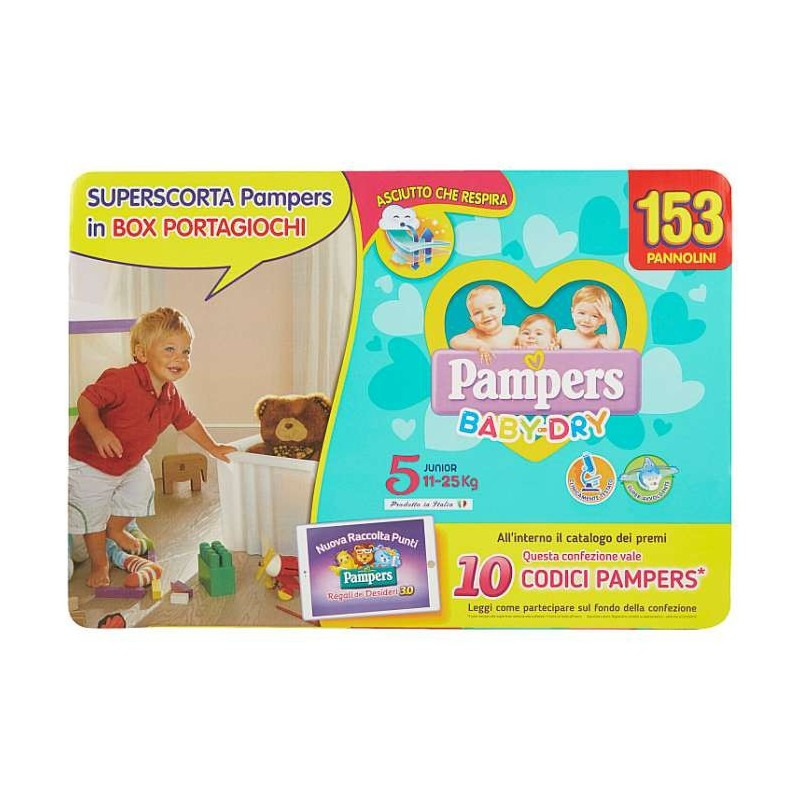 Pampers BABY DRY Box Baby...