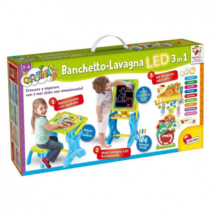 CAR.BANCHETTO LED 3IN1 LIS